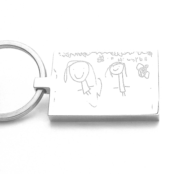 Doodle Keyring