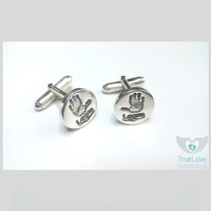 Handprints Cufflinks