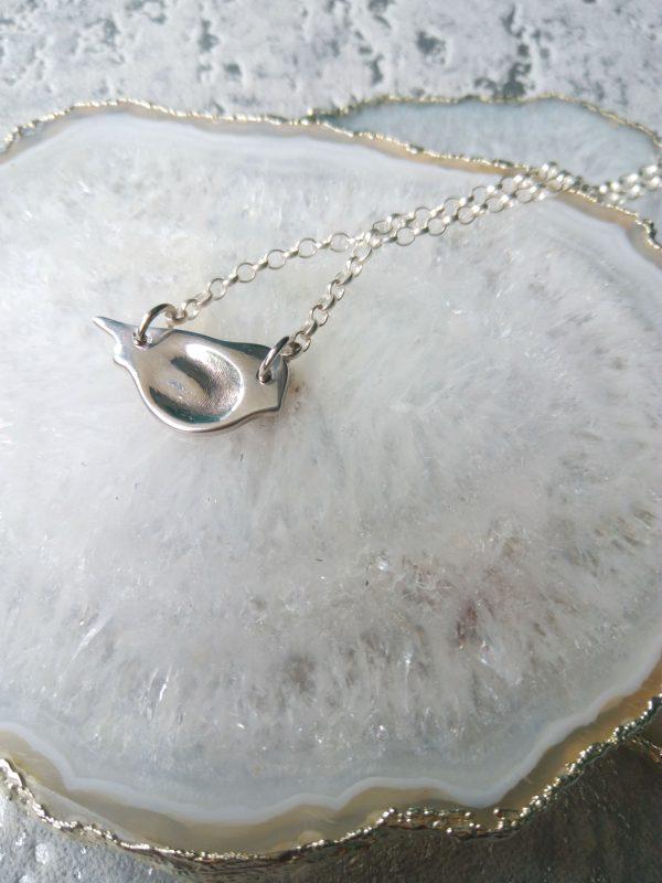 Bird Fingerprint Necklace