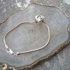 Handprint Bead Pandora Compatible Bracelet