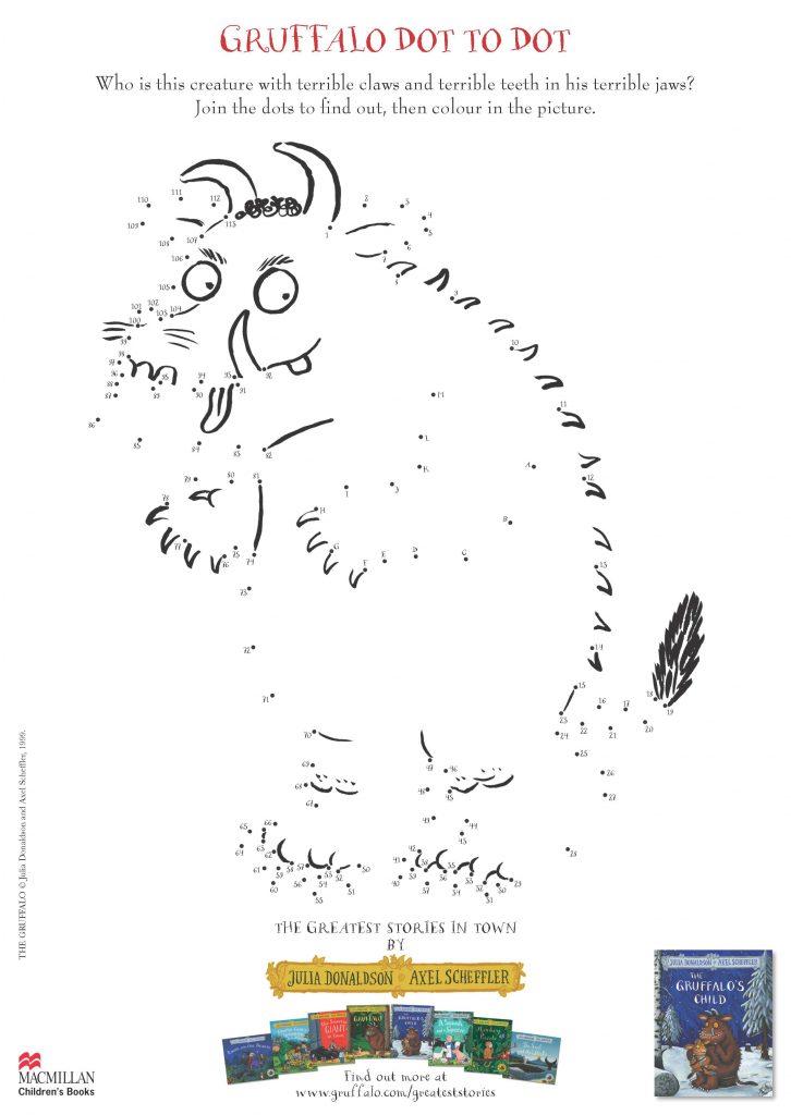 gruffalo child dot to dot
