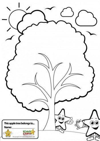 kiddy charts worry tree