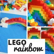 rainbow lego challenge