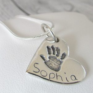 Handprint Charm
